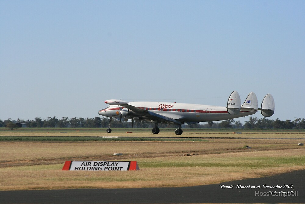 """""""Connie"""" Almost on at Narromine. by Ross Campbell"""