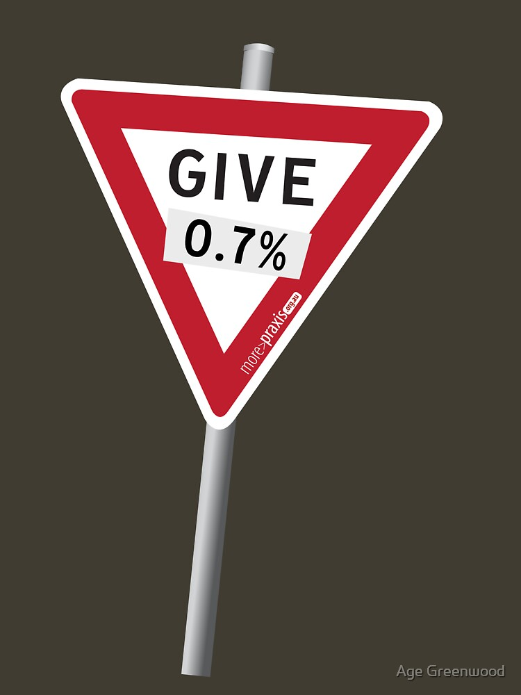GIVE 0.7% by morepraxis