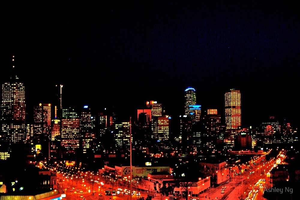 psychedelic melbourne by Ashley Ng