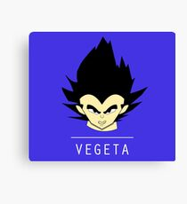 VEGETA DBZ VECTOR Canvas Print