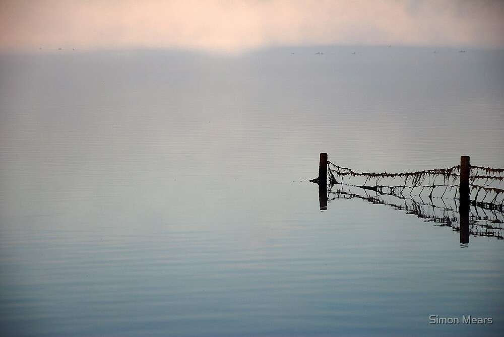 Mist on Rutland Water by Simon Mears