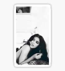 Kylie Jenner Monochrome Chilling Sticker