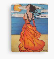 The Beach 3 Canvas Print