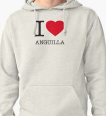 I ♥ ANGUILLA Pullover Hoodie