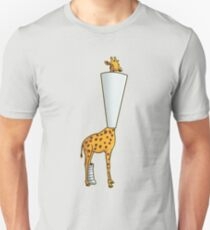 Ouch Giraffe Unisex T-Shirt