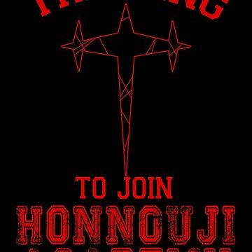 Training to be join Honnōji Academy by ShadowFallen