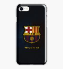 barcelona best logo iPhone Case/Skin