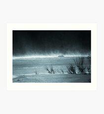 Cold Winds Art Print