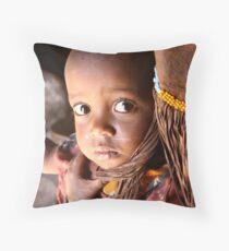 SAMBURU CHILD Throw Pillow