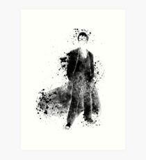 Doctor Who Tenth Doctor David Tennant Art Print