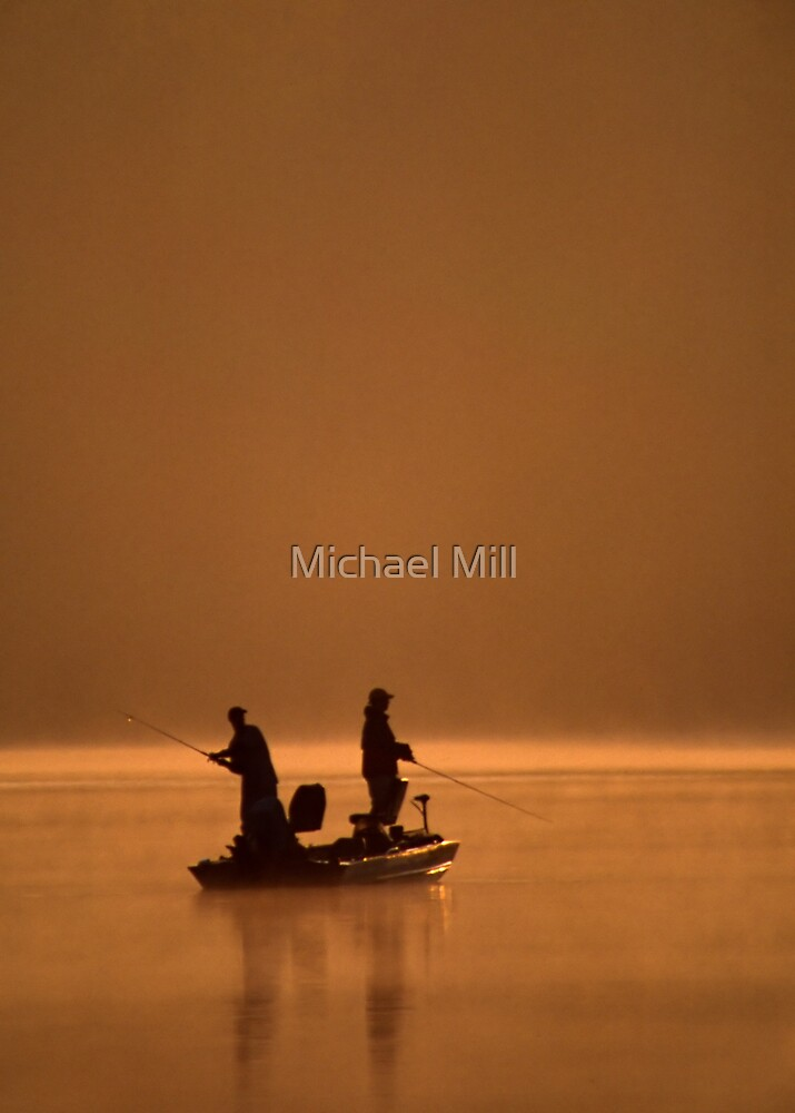 Hooked On Fishing by Michael Mill