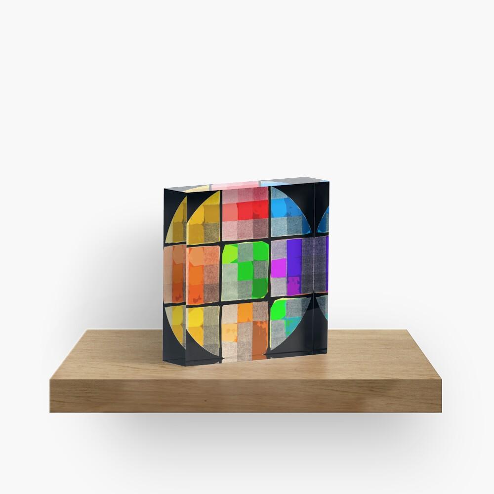 Tender Buttons  Acrylic Block