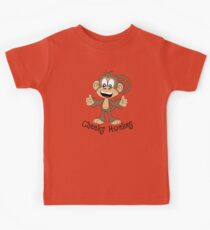 Cheeky Monkey Kids Tee