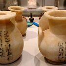 Alabaster vases  by annalisa bianchetti