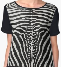 Zebra Cowhide | Texture #home #lifestyle Chiffon Top