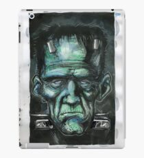 FRANKENSTEIN WATER COLOR iPad Case/Skin