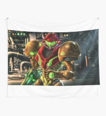Metroid Wall Tapestry