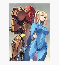 Metroid Photographic Print