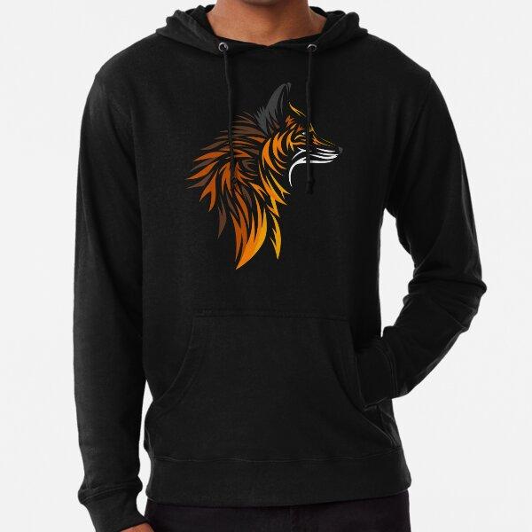 Tribal fox Lightweight Hoodie