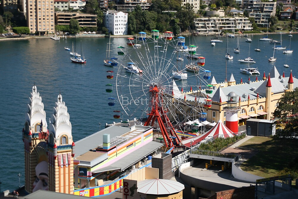 Luna Park, from above by Brett Keith