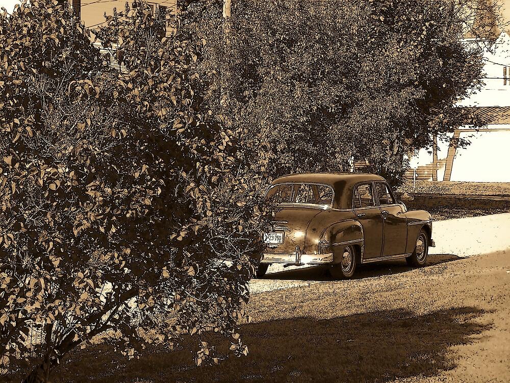 Old Car by Gene Cyr