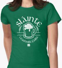 Slainte - Irish Cheers Women's Fitted T-Shirt
