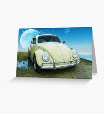 VW Beetle Greeting Card