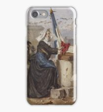 Alexandre-Marie Guillemin (French, ) Aid for the Wounded (Sister of Charity) iPhone Case/Skin