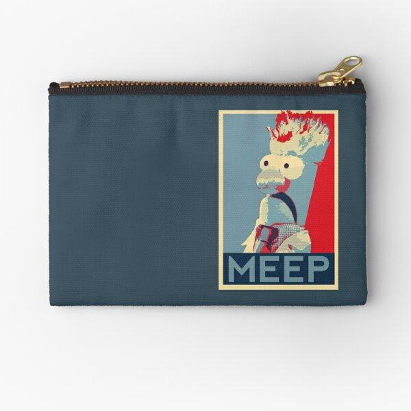 Meep Zipper Pouch