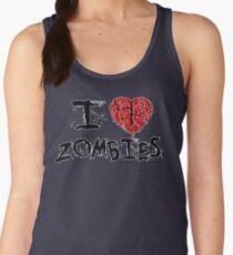 I heart Zombies Women's Tank Top