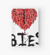 I heart Zombies Hardcover Journal