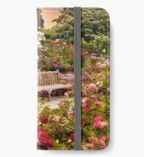 Rose Garden Sunset iPhone Wallet/Case/Skin