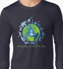 Everyday is Earth Day Long Sleeve T-Shirt