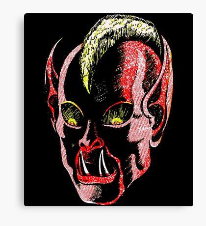 Haunted Head v1 Canvas Print