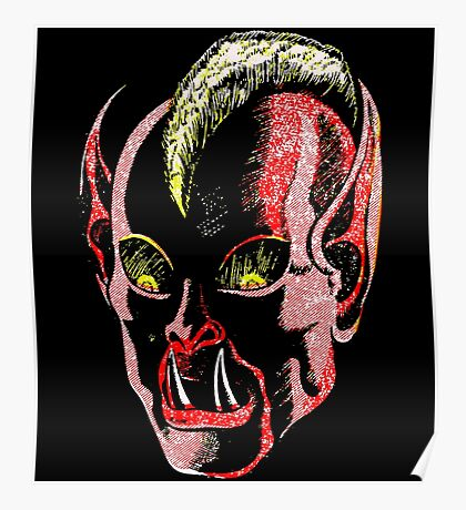 Haunted Head v1 Poster