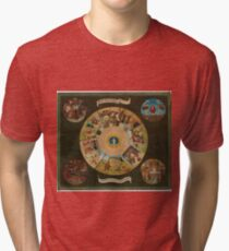 Bosch, Hieronymus - Table Of The Seven Deadly Sins Tri-blend T-Shirt