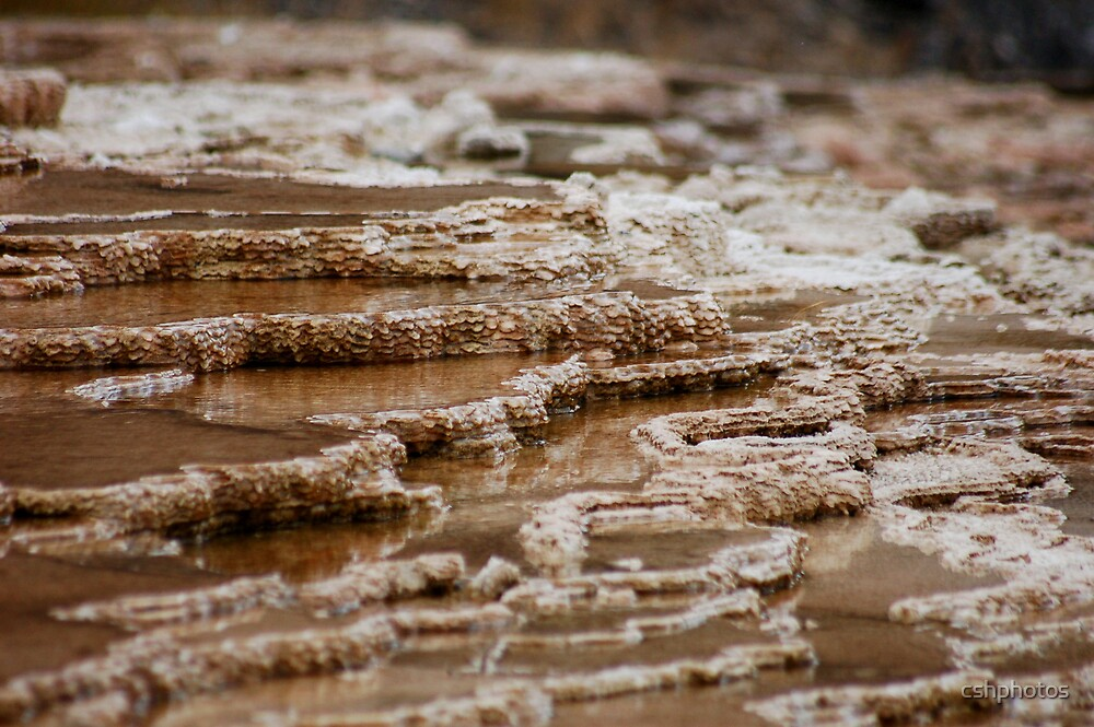 Hot Spring Formation by cshphotos