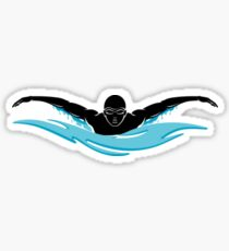 Swimmer Sticker