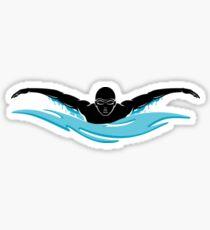 Schwimmer Sticker