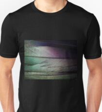 Colored Feather Background - Abstract Art of Light and Color T-Shirt
