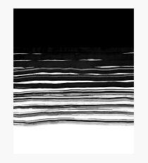 black brush  Photographic Print