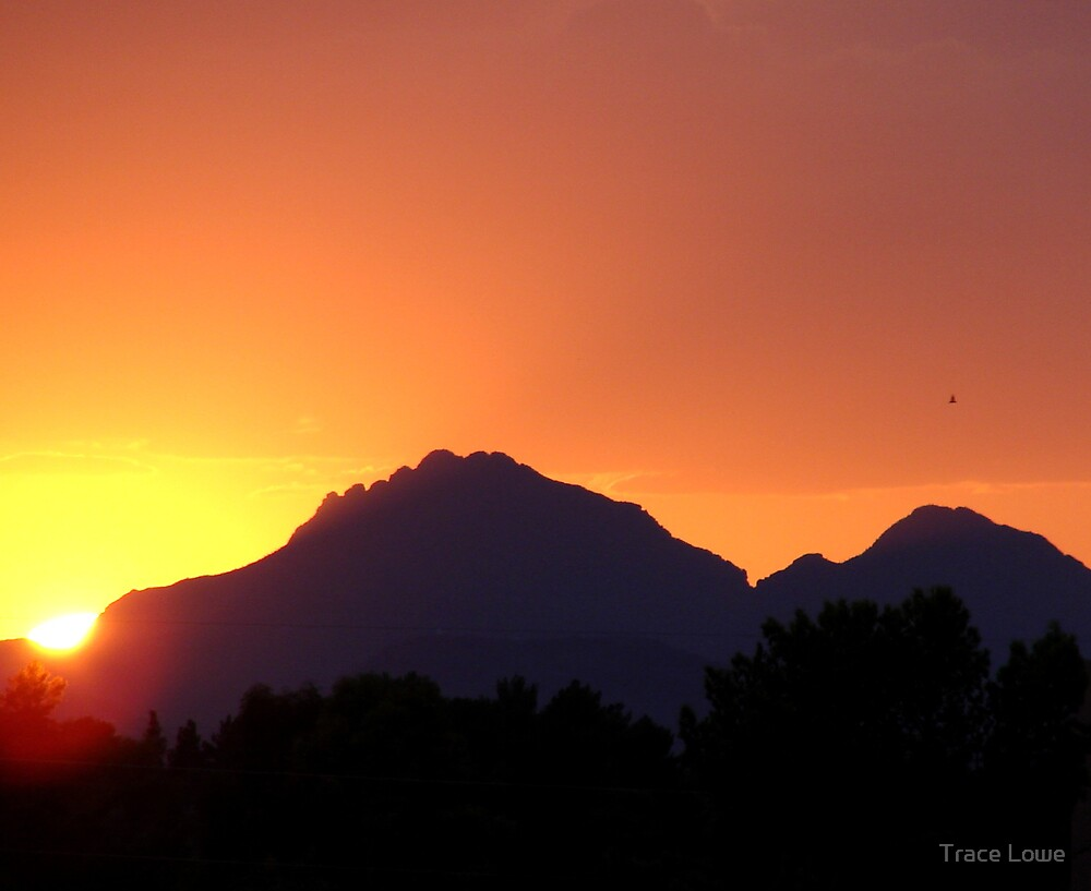 Arizona Sunset 6 by Trace Lowe