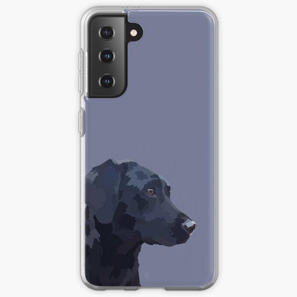 Black Labrador Samsung Galaxy Soft Case