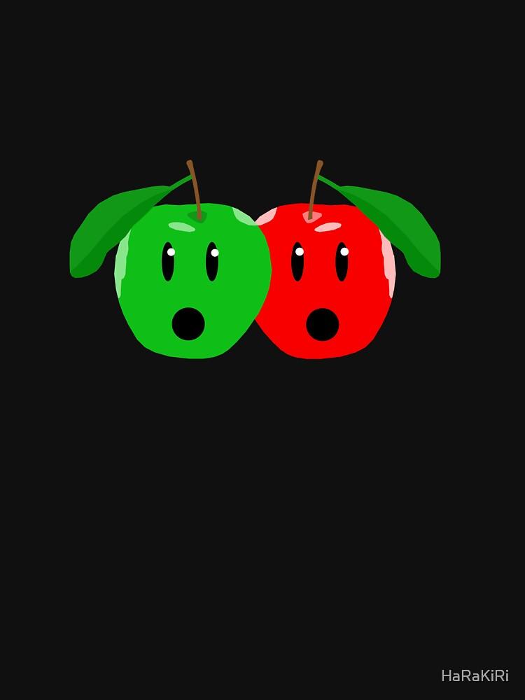 Shocked Apples by HaRaKiRi