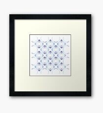 baroque style element Framed Print
