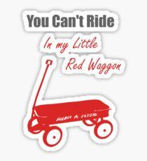 Red Waggon Sticker