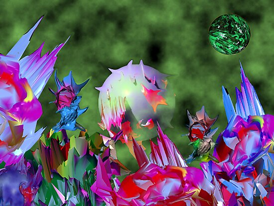 Dance of the Crystal Zin. by AlienVisitor