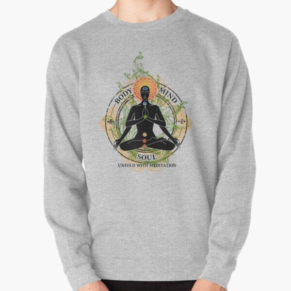 Yoga : Mind Body and Soul KUNDALINI Pullover Sweatshirt