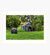 """""""Afternoon at the Farm"""" Art Print"""