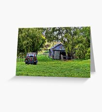 """""""Afternoon at the Farm"""" Greeting Card"""